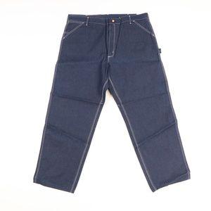 NOS Vintage 90s Carhartt Denim Work Jeans USA